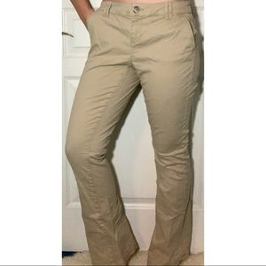 Flare Tan Jeans